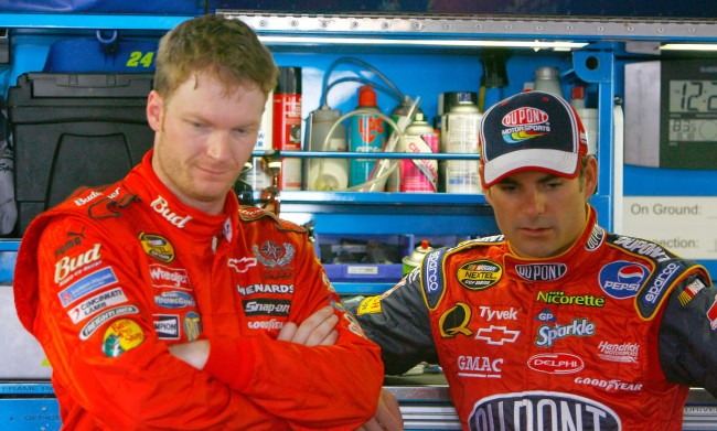 Dale Earnhardt Jeff Gordon Speeding Ticket