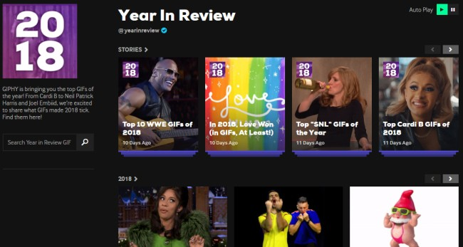 GIPHY Has Revealed Its Most Popular GIFs Of The Year For 2018