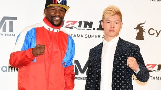 Floyd Mayweather Absolutely Destroys Japanese Kickboxer Tenshin Nasukawa And Knocks Him Out In First Round Of Exhibition Fight At Rizin 14