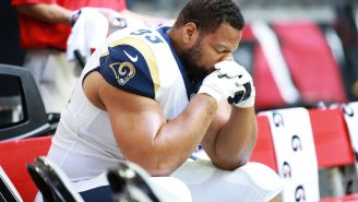 Larry Fitzgerald Addresses Viral Clip Of Ndamukong Suh Trying To Claw His Eyeball Out