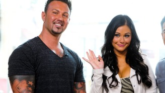 'Jersey Shore' Divorce Turns Ugly As JWoww Gets Restraining Order Against Roger Matthews, He's Hauled Away In Cop Car
