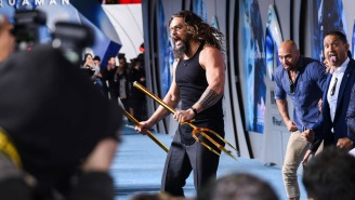 Jason Momoa And The 'Aquaman' Crew Performed An Incredible Haka Dance At The Film's Red Carpet Premiere