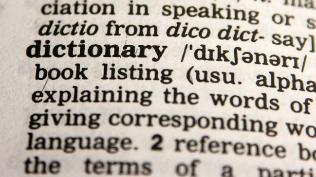 Merriam-Webster Collins Dictionary Words Year
