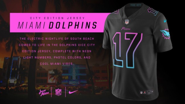 Nike City Edition Uniforms For NFL Teams