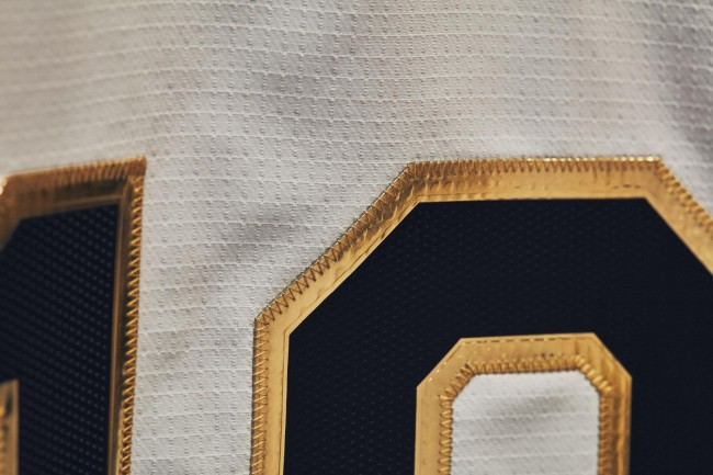 Notre Dame College Football Playoff UA ArmourGrid Uniforms