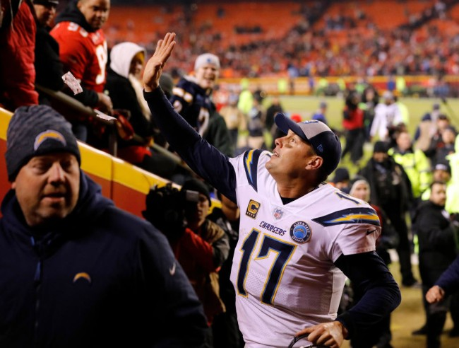 Philip Rivers Trolls Chiefs Fans, Chargers Players Mock Stephen A Smith
