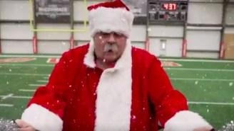 Browns Coach Bob Wiley Shines As Santa Claus In Enchanting Christmas Video