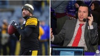 Ben Roethlisberger Rips NFL Network's Ian Rapoport For Report Over 'Cracked Ribs' Report