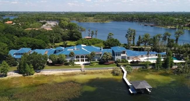 Shaq Mansion In Florida