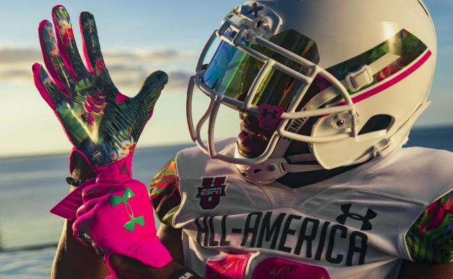 Under Armour All-America Game uniforms