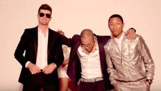 Robin Thicke And Pharrell Ordered To Pay Marvin Gaye Estate Millions For 'Blurred Lines' Lawsuit
