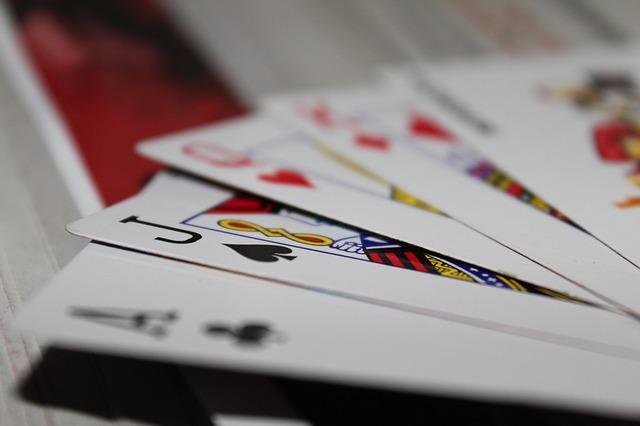 playing cards gambling poker