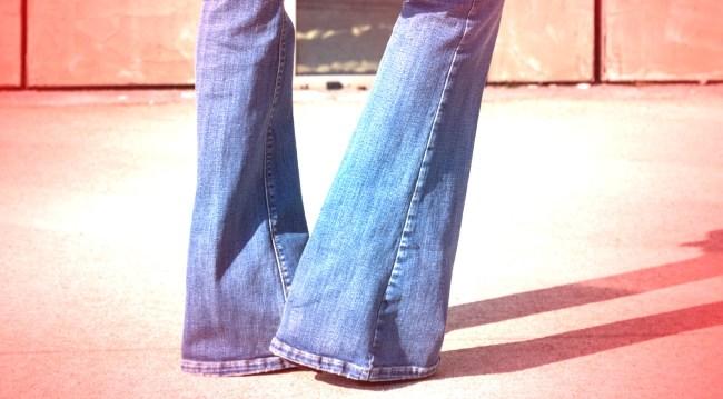 Chrissy Teigen Reaction Boot-Cut Jeans
