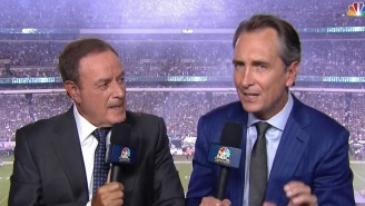 Cris Collinsworth 'Sliding Into' The 'SNF' Booth Is A Solid Late Entry For Funniest Meme Of The Year