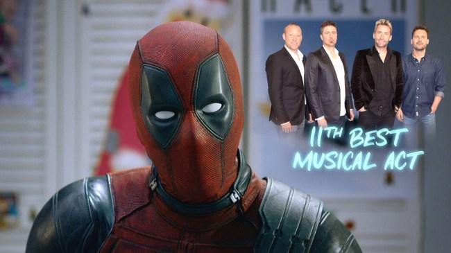 Deadpool Trolls Avengers Endgame Defends Nickelback