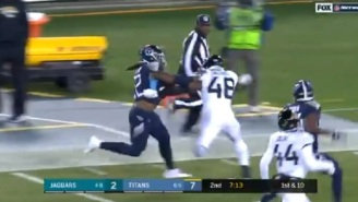 The Tennessee Titans Twitter Account Puts Darren Rovell In A Body Bag For Dumb Take On Derrick Henry's 99-Yard TD Run