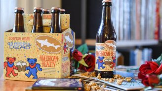 Dogfish Head Is Bringing Back It's Grateful Dead American Beauty Beer For 2019