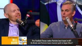 Bill Burr Stuffs Colin Cowherd In A Locker Over His Awful Baker Mayfield Takes