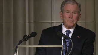 George W. Bush's Touching Final Words To His Dad, George H.W. Bush, Literally Gave Me Chills