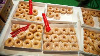 Mark Your Calendars: Krispy Kreme Is Selling A Dozen Doughnuts For $1–Here's How To Get 'Em