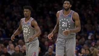 Jimmy Butler Reacts To Joel Embiid Being Unhappy With Role After He Joined The Team