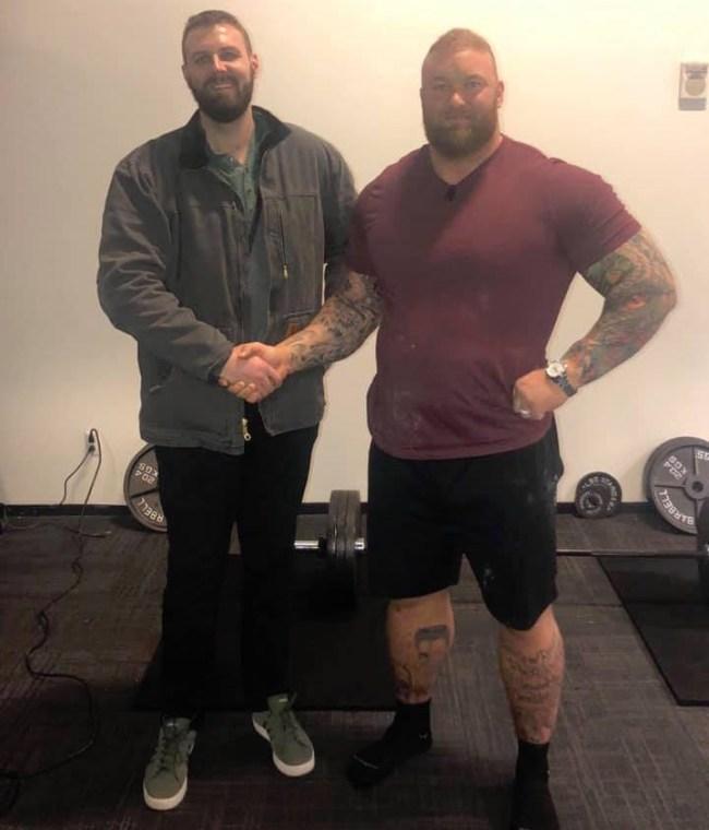 Hafthor Bjornsson game of thrones interview