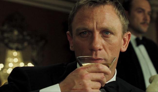 james bond alcoholic