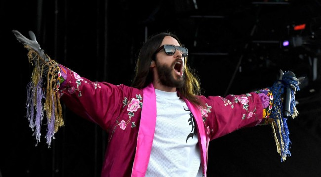 Jared Leto Stops Concert Security Audience