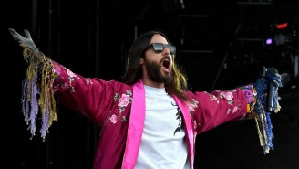 Jared Leto Stops Concert To Berate Security For Pummeling Some Dude In The Audience