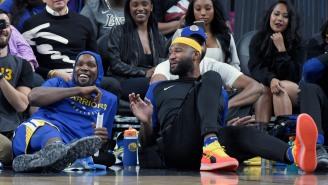 Kevin Durant Getting Posterized By A Still-Injured DeMarcus Cousins Is An Early Christmas Present To The Internet