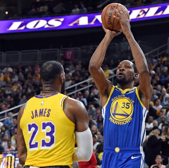 LeBron James Reacts Kevin Durant Toxic Comments