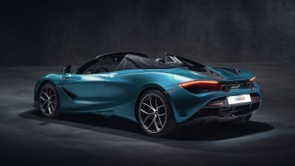 The New McLaren 720S Spider Supercar, Unveiled This Week, Might Be The Coolest Car Ever Created