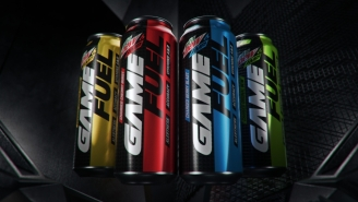 Mtn Dew Amp Game Fuel Is The First Drink Designed By Gamers For Gamers With A New Can That Changes The Game