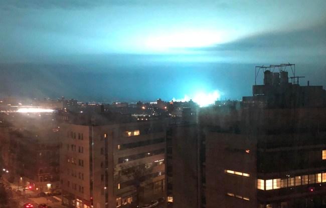 nyc explosion aliens