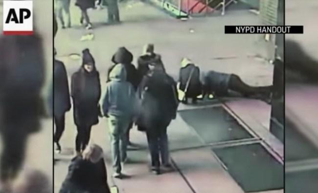NYPD manhunt proposal fail lost ring subway grate