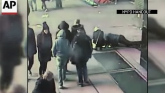 Guy Proposes In Times Square And Drops The Ring Down A Sidewalk Grate, NYPD Then Tracks Him Down