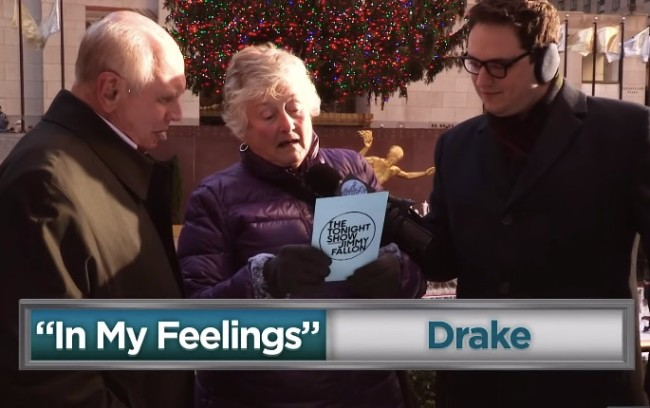 old people sing songs they've never heard