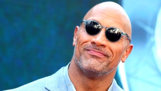 The Rock Says He's 'Bionic From The Waist Down' After 460-Lb Hip Thrusts, Sideswipes Kevin Hart Again