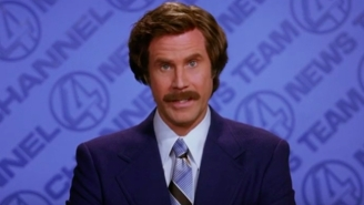 Great Odin's Raven! Ron Burgundy Is Cannonballing Into The Podcast Game