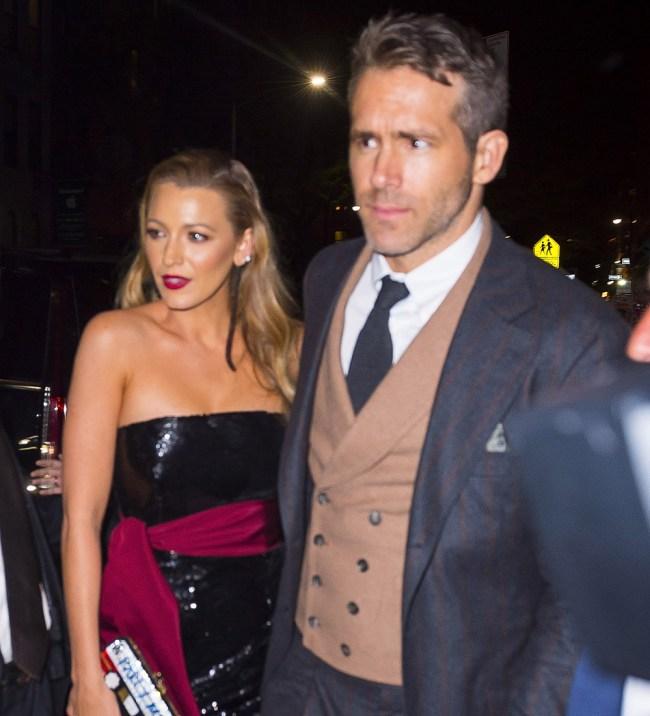 Ryan Reynolds Sex Wife Blake Lively Twice