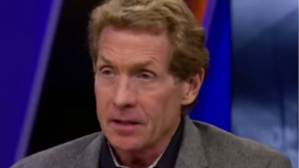 FS1's Skip Bayless Gets Embarrassingly Duped By Fake LeBron James Quote While Talking About Courtside Karen Incident