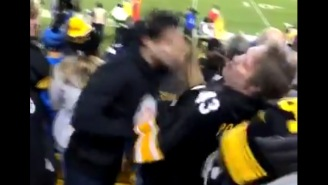 Steelers Fan Delivers Vicious Headbutt, Haymaker Right Hand That Bloodies Up… Another Steelers Fan