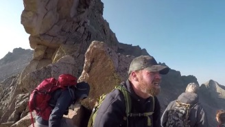 Man Documents His 6-Month Journey To Hike Colorado's Longs Peak While Losing 130-Pounds Along The Way