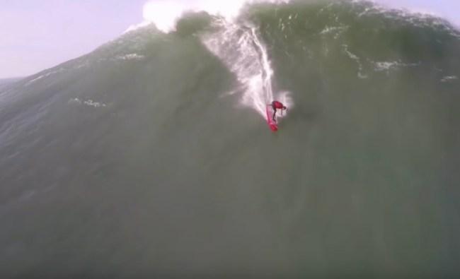 nazare worst wipeouts big wave surfing