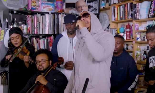 Wu-Tang Clan NPR's Tiny Desk Concert Performance