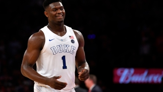 Zion Williamson's Reaction To A Question About Joining The Knicks One Day Is Disrespect At Its Finest