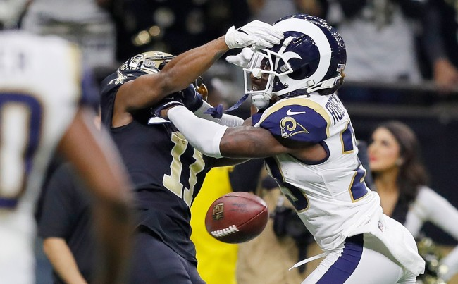 Alternate Angle From Stands Of Uncalled Rams Pass Interference Penalty