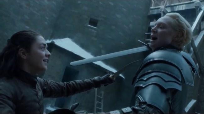 arya stark game of thrones fan theory
