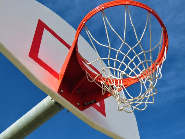why are basketball hoops 10 feet