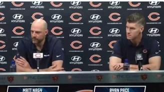 Chicago Bears' Coach Matt Nagy Doesn't Rule Out Signing Kareem Hunt, Cutting Cody Parkey